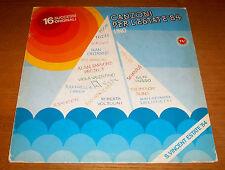 """CANZONI PER L'ESTATE '84 """"UNO"""" Pooh Giuni Russo Tozzi LP CGD 1984 made in Italy"""