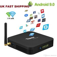 2019 TX6 Quad Core 4GB+32GB Android 9.0 TV Box  2.4Ghz WIFI HD Media Player *UK*