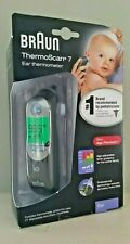 NEW/SEALED Braun ThermoScan 7 IRT6520 Baby Adult Home Digital Ear Thermometer