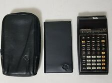 Texas Instruments TI-58 Programmable Calculator PARTS 1977 Libraries Untested