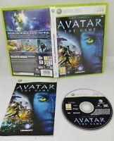 James Cameron's Avatar The Game Microsoft Xbox 360 2009 VGC FAST FREE POST