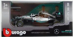 BBURAGO RACE MERCEDES AMG PETRONAS W07 #6 NICO ROSBERG 1:43 38026
