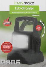 Easymaxx LED-Strahler 200 Lumen Batteriebetrieben & Schwenkbar Neu