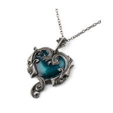Gothic SUPERNATURAL Skull Skeleton Necklace Pendant Heart Steampunk Jewelry Gift