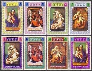 Grenada 387-394,hinged.Michel 383-390. Tiepolo,Dirk Bouts,Bellini,Correggio.1970