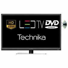 "Technika 24F22B-HD/DVD 24"" Slim LED TV DVD Combi HD Ready 720p Freeview HDMI"