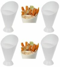 WHL Snack & DIP Cone French Fries Bowl Holder Stand