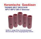 10  Keramische Gasdüse TIG/WIG SR17 SR18 SR26 HP17  WP17 SR-17 Brenner