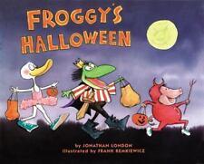 Froggy's Halloween-ExLibrary