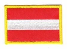Aufnäher Österreich Patch Flagge Fahne