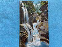 Rainbow Falls, Watkins Glen New York, in the Finger Lakes Vintage Postcard