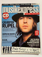 LIAM GALLAGHER OASIS / SHERYL CROW GERMAN MUSIKEXPRESS MAGAZINE FEBRUARY 2000