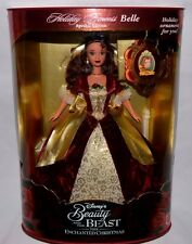 NIB-HOLIDAY PRINCESS BELLE-BEAUTY AND THE BEAST-THE ENCHANTED CHRISTMAS-ORNAMENT