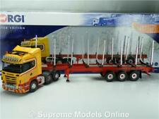 SCANIA R COILLE HAULAGE CC13766 LOG TRAILER 1:50 MODEL CORGI TRUCK LORRY T34Z