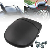 New Rear Passenger Pillion Pad Seat Black For Victory Vegas Kingpin Judge 03-13
