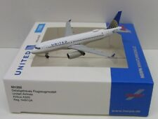 Herpa Wings United Airlines Airbus A320neo Reg N491UA 1/500 HE531252