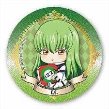 Code Geass Gyugyutto C.C. Character Can Badge Pin Button Anime Art