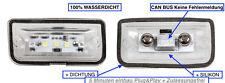 2x LED Kennzeichenbeleuchtung Mercedes C-Klasse W203 Limo C 200 CDI (1103-4D