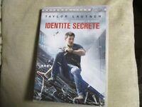 """DVD """"IDENTITE SECRETE"""" Taylor LAUTNER"""