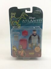 Vinny Atlantis Lost Empire Disney Mattel Toy Action Figure Accessory Sealed 2000