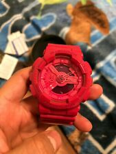 CASIO G SHOCK WATCH GA-110B-4JF Limited Edition HYPER Color PINK