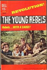 The Young Rebels #1 FINE- 5.5 (Dell 1971)