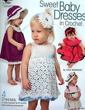 Sweet Baby Dresses In Crochet  4 Patterns  Annie's Attic