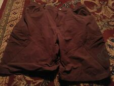 PEARL IZUMI Men's NYLON/Spandex Xtra Large BROWN Bike Shorts