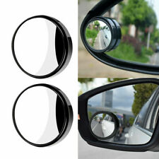 2 PCS 360° Wide Angle Blind Spot Mirror Convex Rear Side View HD Universal Auto