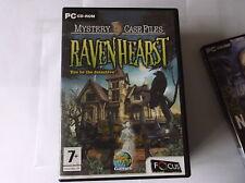 Mystery Case Files: RavenHearst hidden object (PC CD)