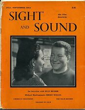 SS54-24-1 SIGHT AND SOUND 1954 Jean Renoir JEAN GABIN & ARLETTY UK MAGAZINE