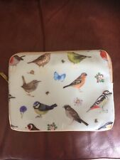 Ipad Zipped Cover/Case By Orchid Designs Garden Birds.