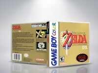 The Legend of Zelda: Link's Awakening GBC-Cover/case de remplacement  (NO Game )