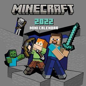 Minecraft 2022 Mini Wall Calendar