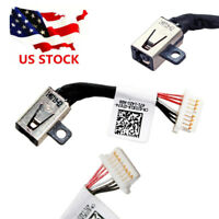 for Dell Inspiron 7368 7378 7569 7579 DC POWER Jack Cable PF8JG 450.07R03.000
