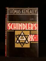 1982 Schindler's Ark Thomas Keneally First Edition in Dustwrapper Holocaust