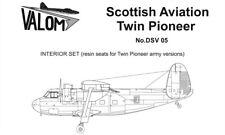 Valom DSV05 1/72 Scottish-Aviation Twin Pioneer Army versions resin seats