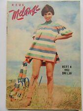 Neue Melange 8/1952, Lois Maxwell, Ruth Niehaus, Gardy Granass, Hilde Knef