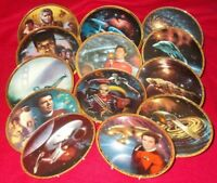STAR TREK COLLECTORS PLATES VARIOUS SERIES - SELECT PLATES