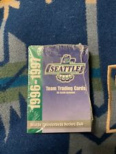 1996-1997 Seattle Thunderbirds Complete Set 30 Trading Cards