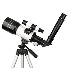 70mm Refractor Terrestrial,Astronomical Telescope,Tripod,Eyepiece Astronomer HOT