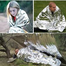 Waterproof Emergency Rescue Space Foil Thermal Blanket Retain Body Heat Reusable