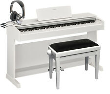 E-Piano Yamaha YDP-143 WH weiß matt Set, ydp143, Klavier, Digitalpiano