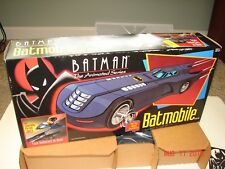 "BATMAN Animated Series ""BATMOBILE"" MINT IN BOX *NEW* Kenner 1992 Rare Find!"