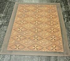 "Floorcloth 2'X3' ""Concerto"" Hand Crafted Rug Available For Immediate Delivery"