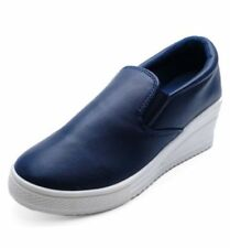 Botas de mujer botines sin marca color principal azul