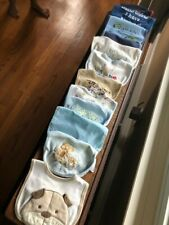 Lot Of 12 Baby Infant  - Printed Bibs For Boys - Excellent Condition