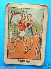figurines cards figurine sportive sports anni 30 40 v.a.v. vav podismo maratona