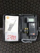 testo term 610 Thermometer Hygrometer #27889
