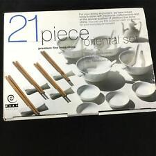 Oriental Dinner Set 21 Piece #129